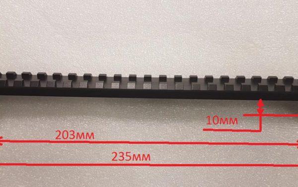 Мостик ласта-вивер с углом наклона 0,15