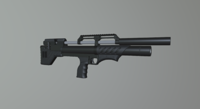 Снайпер буллпап (Анодирование.)