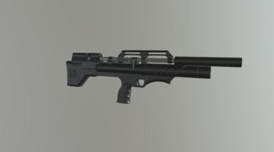 Снайпер буллпап с передним взводом (покрытие порошковой краской)