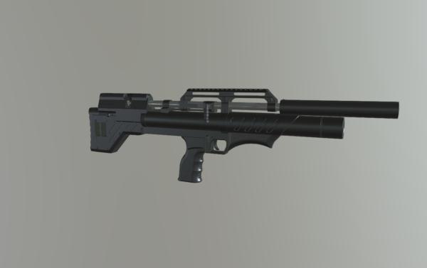 Снайпер буллпап с передним взводом (Анодирование)
